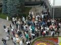 Под Офисом президента произошли стычки митингующих и силовиков