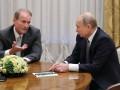 Медведчук пообщался с кумом Путиным в Санкт-Петербурге