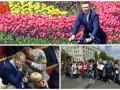 День в фото: Кличко на велосипеде, музыка в Раде и митинг в Киеве