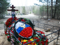 В России похоронили убитых в Сирии офицера и солдата
