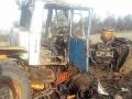 Под Мариуполем на мине вновь подорвался трактор