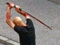 В Германии эмигрант мечом зарубил на улице мужчину
