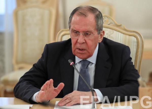Лавров недоволен украинской делегацией.