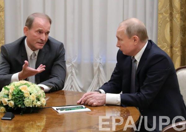 Медведчук переговорил с Путиным