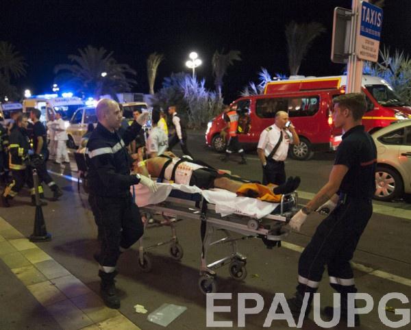 Теракт в Ницце: 80 жертв