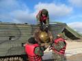 Украинские бойцы установили противодесантные мины на побережье Азовского моря
