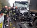 Под Уманью грузовик столкнулся с легковушкой: Есть жертвы