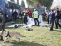 В центре Иерусалима грузовик въехал в толпу: есть погибшие