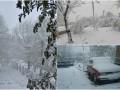 Снегом засыпало Одесскую область