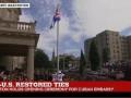 В Вашингтоне над посольством Кубы поднят флаг