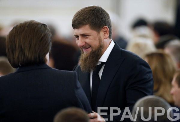 """Во время игры, спецназ """"неожиданно навалился"""" на главу Чечни"""