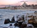 Херсонес во льду: в Севастополь пришла зима