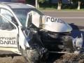Появилось видео ДТП в Луцке, в котором погиб полицейский