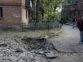 В результате боев в Донецке повреждены и разрушены ряд домов