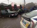 В Ровенской области столкнулись пять авто, есть жертвы