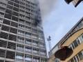 Из-за пожара в центре Киева образовались пробки