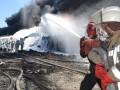 ГСЧС: Угрозы взрыва на нефтебазе под Киевом нет