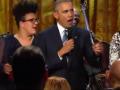 Барак Обама спел на концерте в честь Рея Чарльза