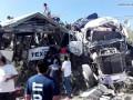 В Мексике автобус столкнулся с грузовиком: 11 жертв
