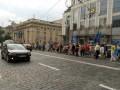 К Кабмину и Раде идут колонны протестующих, требуют снижения тарифов