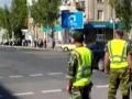 В Луганске сепаратисты взяли на себя роль гаишников (видео)