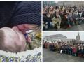 Погибших под Авдеевкой бойцов провожали на коленях в Киеве