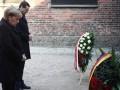 Меркель впервые посетила концлагерь в Освенциме