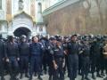 В Киеве пикетируют Печерскую Лавру (фото, видео)