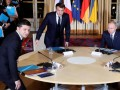 Путин и Зеленский обменялись рукопожатием - Песков