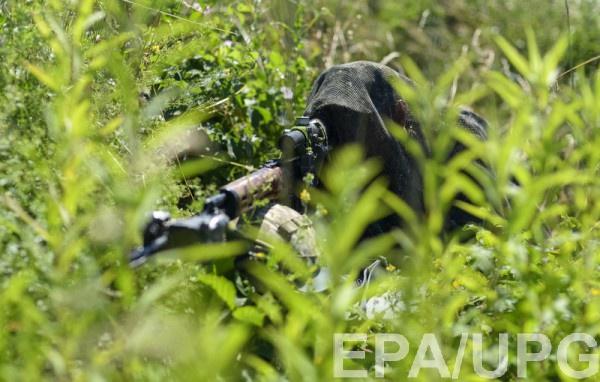 В июне 2017 женщину-снайпера задержали сотрудники СБУ