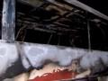 В Польше загорелся автобус из Украины