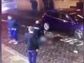 Автомобиль врезался в толпу пешеходов в Ливерпуле
