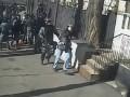 Опубликовано новое видео избиения Беркутом журналистов на Майдане