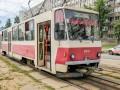 В киевском трамвае отказали тормоза: В панике пассажиры выпрыгивали прямо на ходу