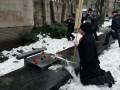 В Запорожье сорвали акцию пенсионеров из Полка победы