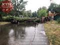 Киев накрыл сильный ливень, выпал град