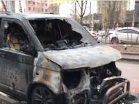 В Киеве сожгли машину доверенного лица кандидата в президенты  Руслана Кошулинского