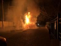 В Одессе ночью сгорел Lexus RX депутата от БПП