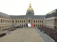 В Париже прошла церемония памяти жертв терактов