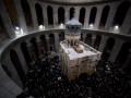 Храм Гроба Господня в Иерусалиме открыли после реставрации