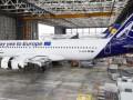 Lufthansa ради выборов Европарламента перекрасила самолет