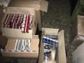 В Краматорске ГФС обнаружила крупный склад контрабандных сигарет