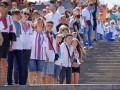 Одесса отметила День независимости живой цепью в вышиванках