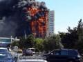 В Баку масштабный пожар в жилой высотке, 15 погибших