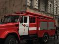 В Киеве пожар охватил историческое здание