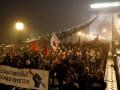 В Будапеште против протестующих применили газ