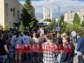 В столице митингуют против иска Медведчука о книге про Стуса