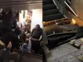 В метро Рима сломался эскалатор с футбольными фанатами