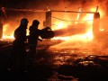 Очевидцы сняли момент мощного взрыва на автозаправке в Чечне