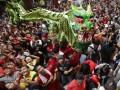 Драконы и огонь: как отметили Китайский новый год в мире (ФОТО)